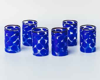 Bicchieri in vetro di Murano
