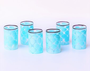 Bicchierini da liquore in vetro di Murano