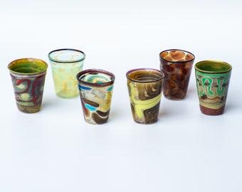 bicchierino in vetro di Murano 6 pezzi
