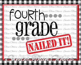 Fourth Grade Princess Svg 4th Grade Cut File Last Day Of Etsy