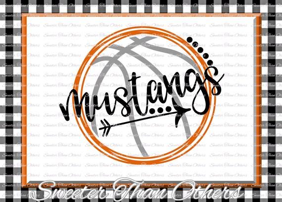 Basketball Svg Mustangs Svg Mustangs Basketball Svg Etsy