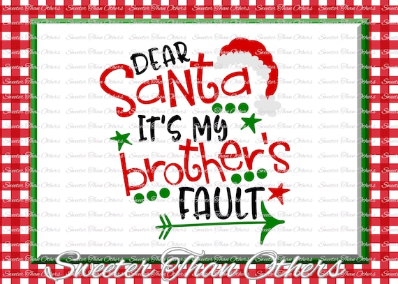 34+ Will Trade Cousin For Presents Svg, Christmas Svg, Santa Svg, Dxf Silhouette Studios, Cameo Cricut Cut File Instant Download, Htv Scal Mtc Image