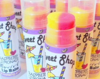 Summer Lip Balm - Raspberry Lemonade Flavored
