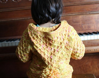 Willoughby Jacket KNITTING PATTERN PDF  Sizes 3 months to 4 years
