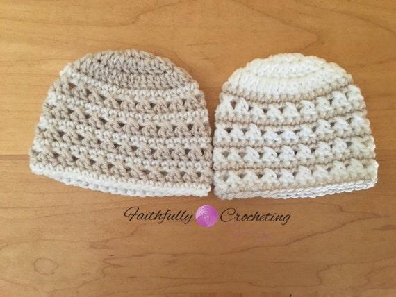 7014974c75ae Chapeaux de garçon nouveau-né jumeau... Bonnets de jumeaux...   Etsy