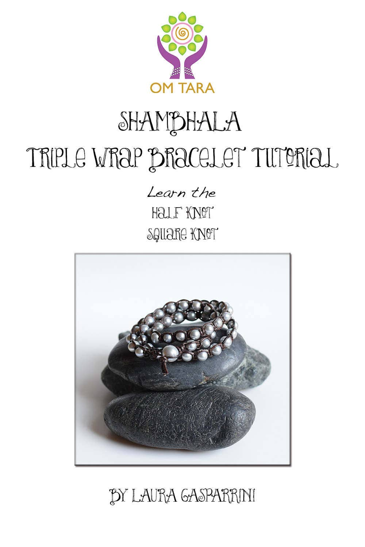 Shambhala Triple Wrap Macrame Bracelet Tutorial How To