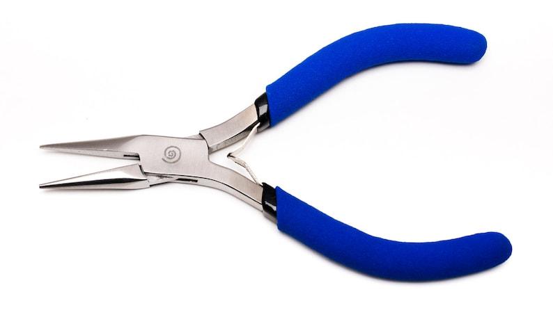 jewelry pliers chain nose pliers jewelry making tools precision beading tools Om Tara\u00ae Tools beading tools Om Tara\u00ae Chain Nose Pliers