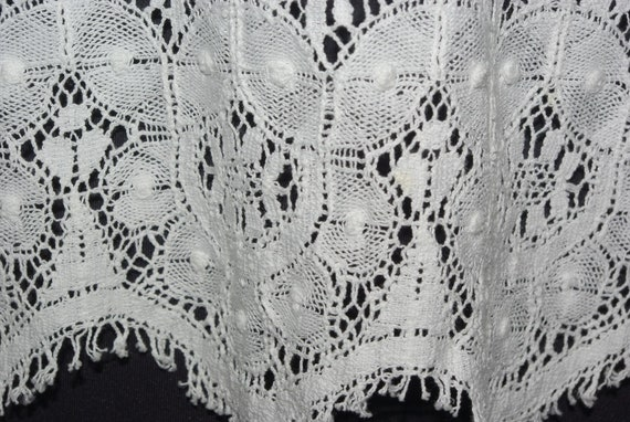 Eileen West White Lace Top, Lace Button Front Blo… - image 6
