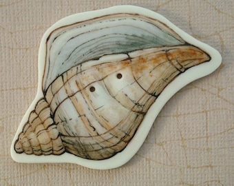 Sea Shell Button