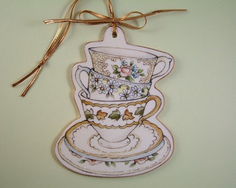 Tea Cups Ornament