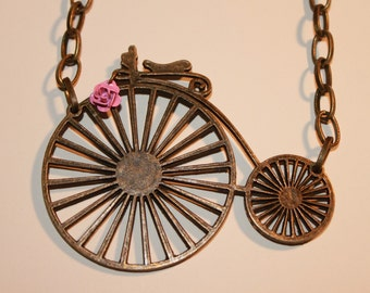 SALE-Keep Calm Ride On Necklace