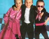 2000s McCall 39 s 2885 UNCUT Sewing Pattern Girls 50s Costumes, Grease, Poodle Skirt, Capri Pants, Jacket, Top Size 3-8