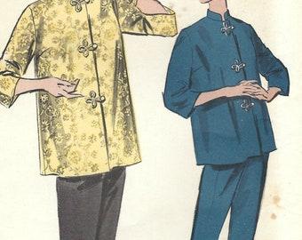c030b353da 1950s Advance 9200 Vintage Sewing Pattern Misses Pajamas