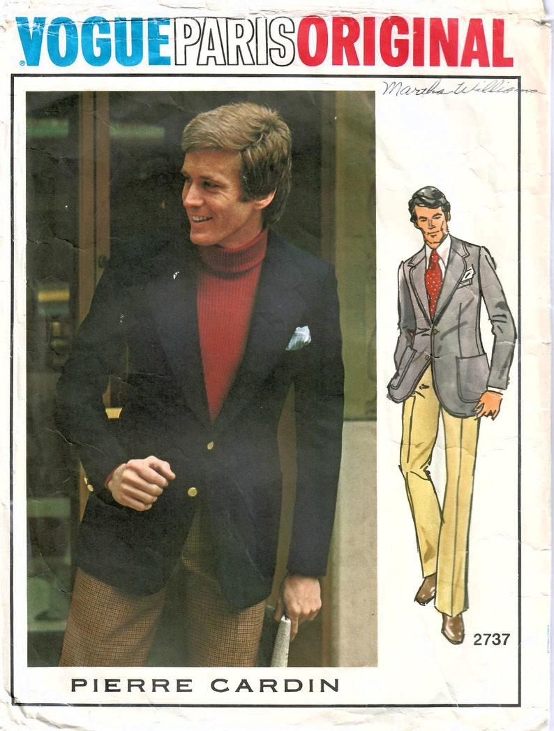 1970s Vogue Paris Original 2737 Vintage Sewing Pattern image 0
