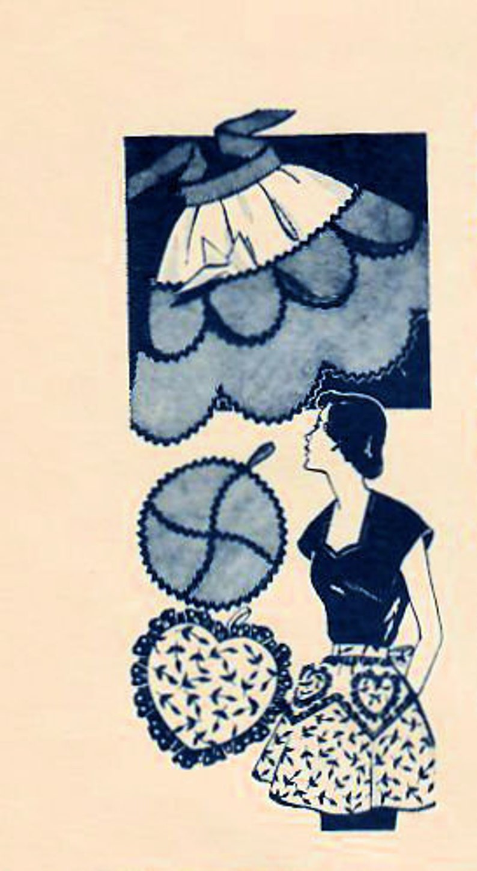 1950s Mail Order 7283 UNCUT Vintage Sewing Pattern Misses Half image 0