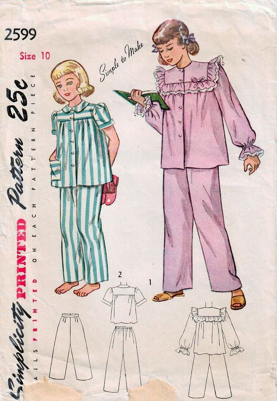 McCalls 4180 Girls Teens Tops Pants Skirts Sewing Pattern Sz 7-8-10-12