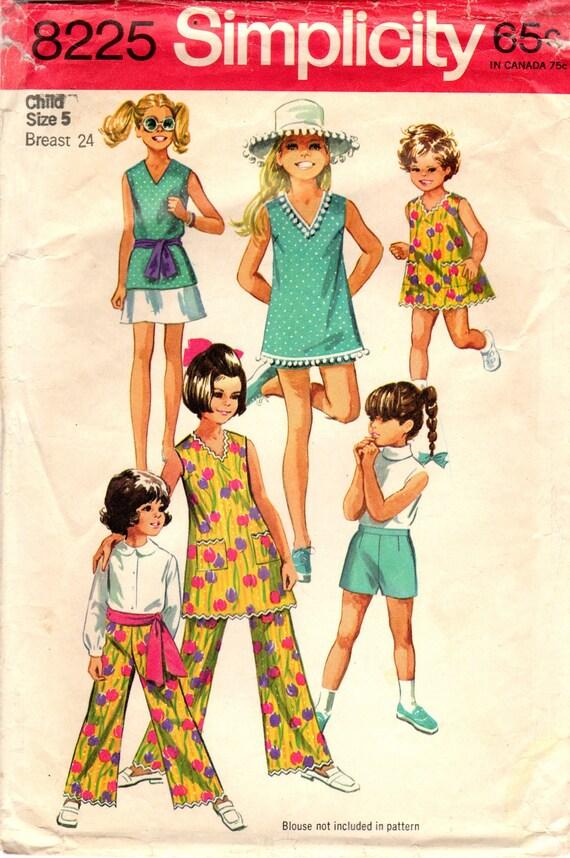 1960er Jahre Einfachheit 8225 Vintage Nähen | Etsy