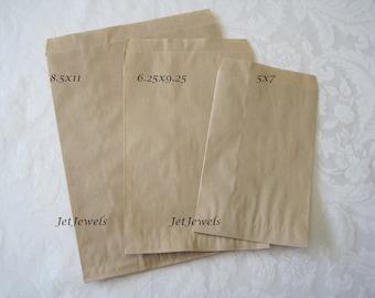 Paper Bags, Kraft Paper Bags, Brown Paper Bags, Paper Gift Bags, Shopping Bags, Retail Merchandise Bags, Paper Bag, Choose Size & Quantity