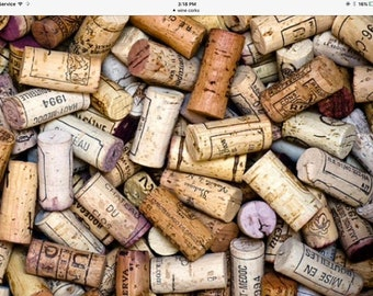 75 Wine Corks, Used Wine Corks, All Natural Corks, Recycled Wine Corks, Wine Wedding, Wine Crafts, Real Corks