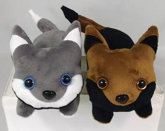 Husky & Shepherd Dog Shoulder Pets