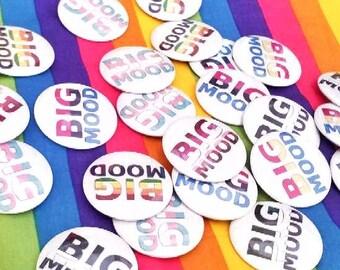 Big Mood PRIDE Button Pins
