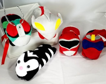 Tokusatsu Shoulder Pets - Kamen Rider, Super Sentai, Ultraman, Power Rangers!