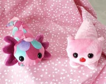 I Love You A'lotls & Significant Otters - Valentine's Day Mini Shoulder Pet