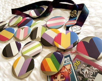 PRIDE Button Pins