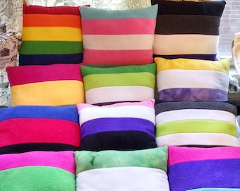LGBTQIA+ Pride Pillows - 12 Styles!