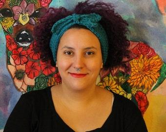 Crocheted Headwrap