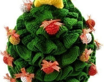 Crochet Pattern- CHRISTMAS TREE -Toys -PDF  (00425)