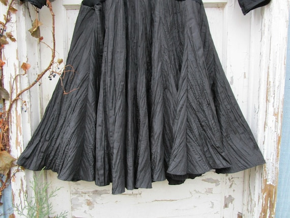 Little Bow Medium Dress Upcycled Black emmevielle qFxwUnnzvC