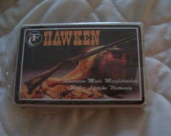 Thompson Center deck of Hawken playing cards unwrapped