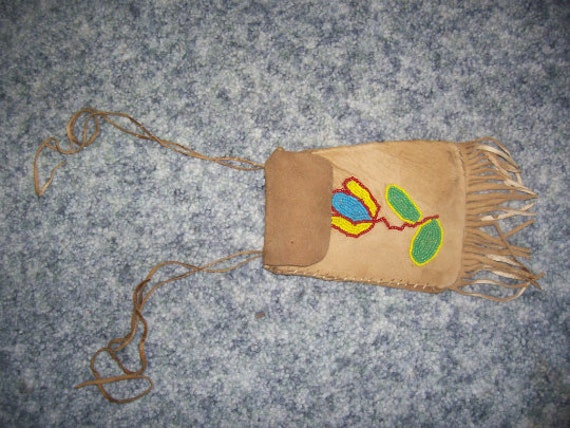 Authentic Native American Beaded Pouch