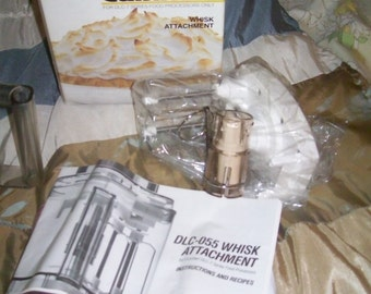 Cuisinart Food Processor Attachments Whisk Dlc7 Dlc10 Dlc055