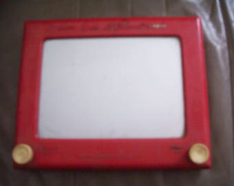 Vintage Etch-A-Sketch from 1950's