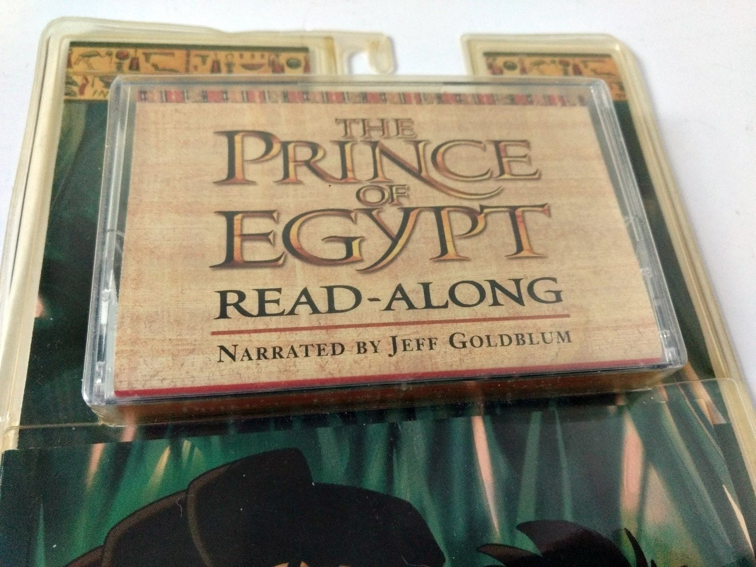 The Prince of Egypt by Jeff Goldblum Read Along Book Set, Book and  Cassette, life of Moses songs music story family enjoyment