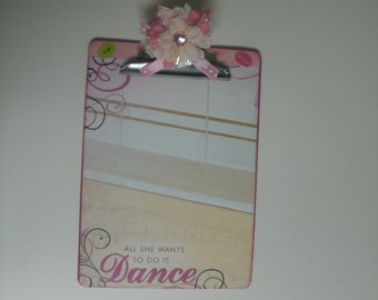 DANCE Altered Clipboard coach