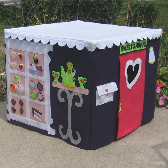 Kids Cupcake Bakery Card Table Playhouse Cover