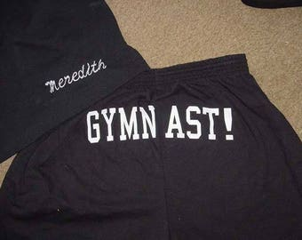 Personalized Black Shorts Cheer Printed Butt shorts Ladies Adult Competition