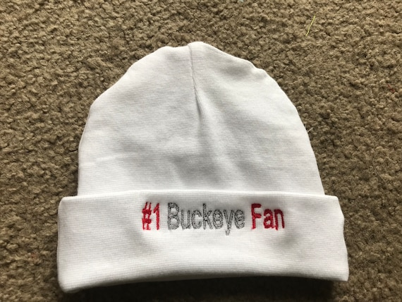 964e95160ab33 Ohio State Buckeyes College Football Baby Infant Newborn Hat