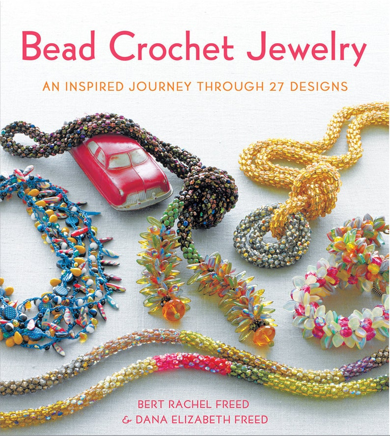 Bead Crochet Jewelry: An Inspired Journey Through 27 Designs image 0
