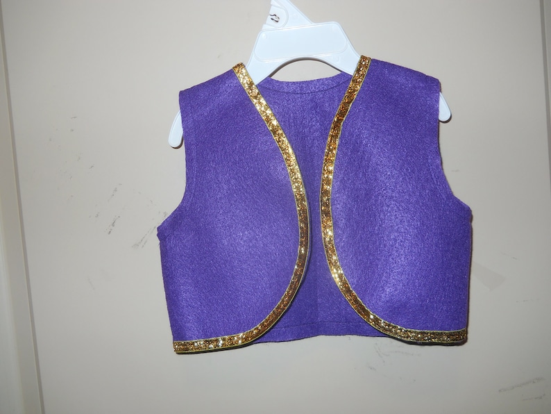 3 choices Aladdin babes and toddlers SHIP: 121120 Sz 0 to 5 Vest Lavender