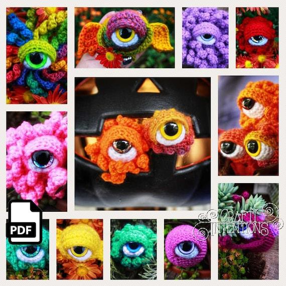 Little Monster Crochet Pattern Amigurumi Monster Amigurumi | Etsy | 570x570
