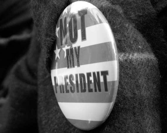 """Not My President,"" New York City Women's March, 2017."