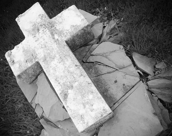 """""""Rock of Ages,"""" Crown Hill Cemetery, Indianapolis, Indiana, 2013."""