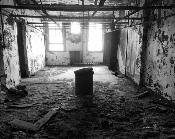 """Restoration,"" Ellis Island Immigrant Hospital, New Jersey, 2017."