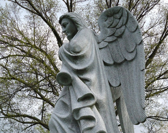 """""""Gabriel,"""" Crown Hill Cemetery, Indianapolis, Indiana, 2013."""