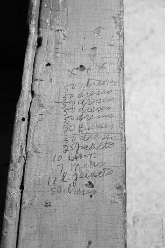 """Order Form,"" Tenement Museum, Manhattan, New York, 2015."