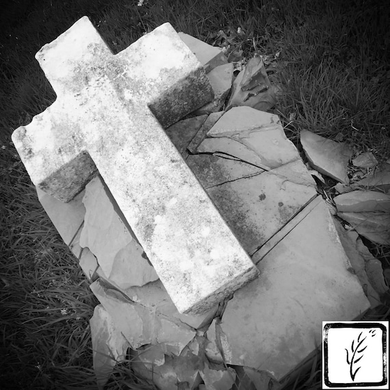 """Rock of Ages,"" Crown Hill Cemetery, Indianapolis, Indiana, 2013."